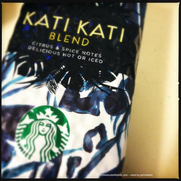 """Kati - một sản phẩm của Starbucks với một """"dấu ấn"""" châu Phi với Arabica."""
