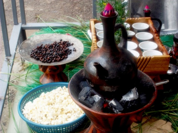 Addis Ababa is the city where you can have world-class coffee less than a $ almost everywhere.