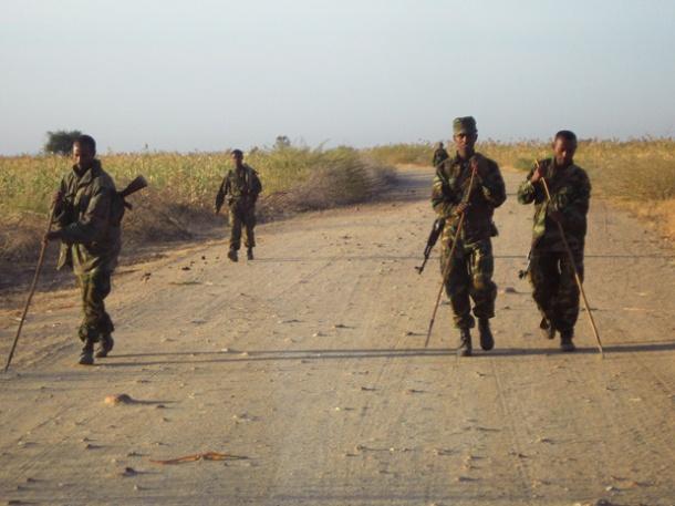 Lính biên giới Ethiopia