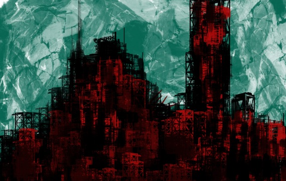 Black_and_Red_City_by_RdSnpr08
