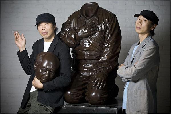 "Tượng ""Mao's Guilt"" của anh em Gao Brothers"