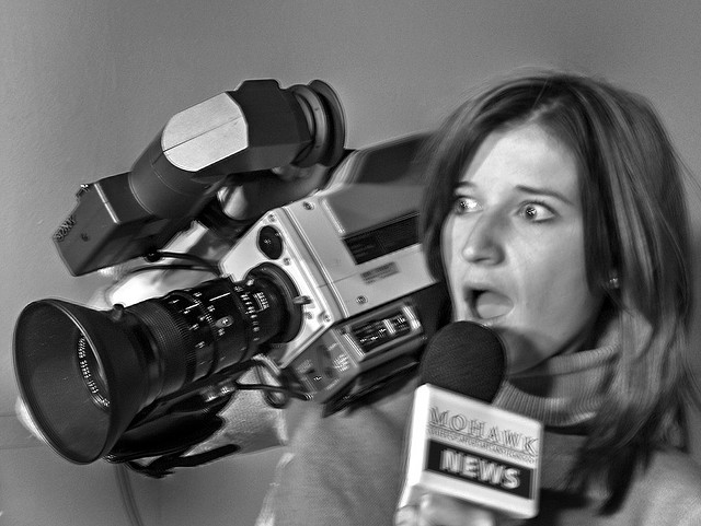 Journalist-Interview
