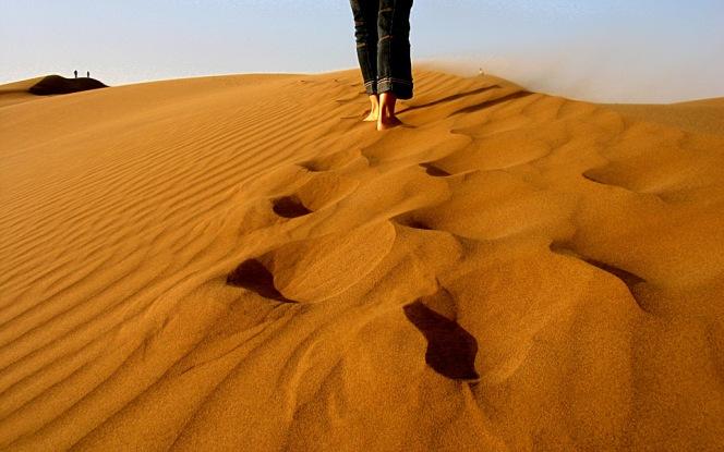 walking-desert