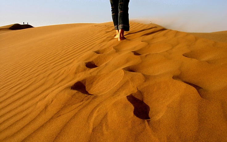 walking-desert