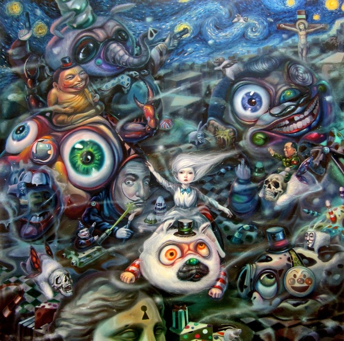 pop surreal art aof smith